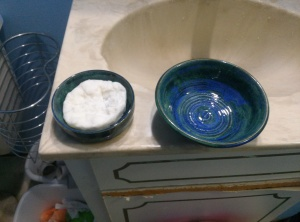 Soap and lather bowl