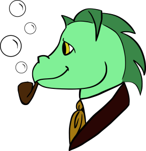 Dapper Dragon (Color)